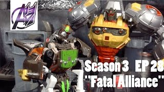 getlinkyoutube.com-Transformers Prime Legacy Ep 28- [Fatal Alliance] Stop Motion