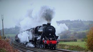 getlinkyoutube.com-44871 & 45407 Blast Up Llanvihangel & The Lickey Bank - Welsh Marches Express
