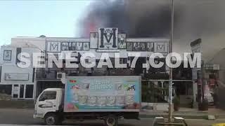 Vidéo-Almadies : Grave incendie au Complexe Five….Reagrdez!