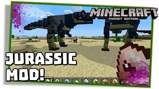 getlinkyoutube.com-Minecraft PE: JURASSIC POCKET MOD 0.12.3 - (Pocket Edition / MCPE)