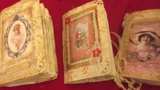 getlinkyoutube.com-3 Rustic journals #junkjournaljunkies #vintagejournals