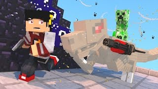 getlinkyoutube.com-Minecraft Mod: ESCADONA - LASER-CREEPER DINOSSAURO-CREEPER ‹ AM3NIC ›