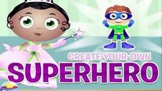 getlinkyoutube.com-♡ Super Why - Create Your Own Superhero - Educational Spelling Game For Kids