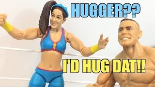getlinkyoutube.com-WWE ACTION INSIDER: Bayley Mattel Superstars Series 58 Wrestling Figure Review!
