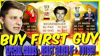 FIFA 16: BUY FIRST GUY CHALLENGE (DEUTSCH) - FIFA 16 ULTIMATE TEAM - SPECIAL CARDS ft. BEAST TOTGS!