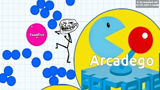getlinkyoutube.com-Arcadego TeamUp Best Moment   Agario Spotlight Collection