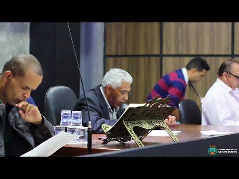 Sessão da Câmara Municipal de Capão Bonito 02 de Outubro de 2017