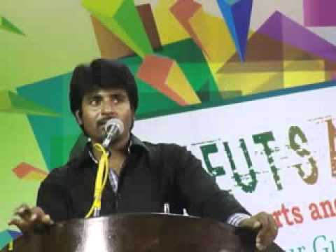 sivakarthikeyan in arunai engineering college