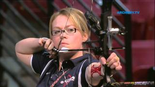 getlinkyoutube.com-Indoor Archery World Championships 2012 - Las Vegas - Match #1