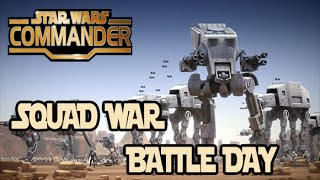 getlinkyoutube.com-Star Wars Commander | Squad War BATTLE DAY - Part #2