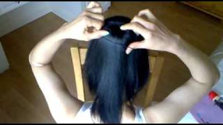 getlinkyoutube.com-air-hostess hair style