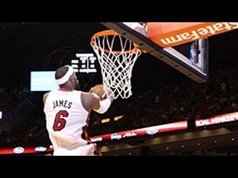 LeBron James Steals for the Showtime Reverse Slam