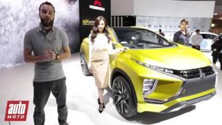 getlinkyoutube.com-Mitsubishi eX Concept : le crossover électrique présenté à Tokyo [VIDEO]