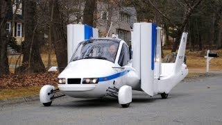 getlinkyoutube.com-► Flying Car - Terrafugia Transition street-legal aircraft