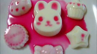 getlinkyoutube.com-Milk pudding microwave oven cooking sweets デザートプリン 電子レンジ