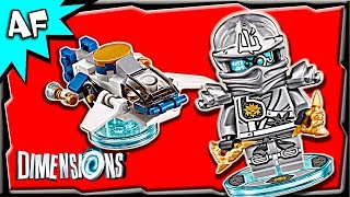 getlinkyoutube.com-Lego Dimensions ZANE Ninjago Fun Pack 3-in-1 Build Review 71217