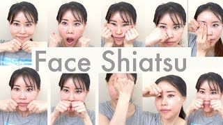 Face Shiatsu for Reducing Wrinkles | 10 Massages
