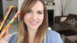 getlinkyoutube.com-מדריך שיער: איך לעשות מחליק מושלם!