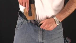 How to Use IWB Appendix Holsters