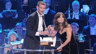 getlinkyoutube.com-Doctor Who At The Proms 2013 - Mini Scene + Matt Smith & Jenna Coleman