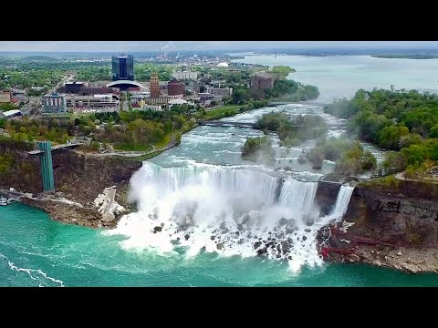 Niagara Falls - Skylon Tower Scenic Views (HD)