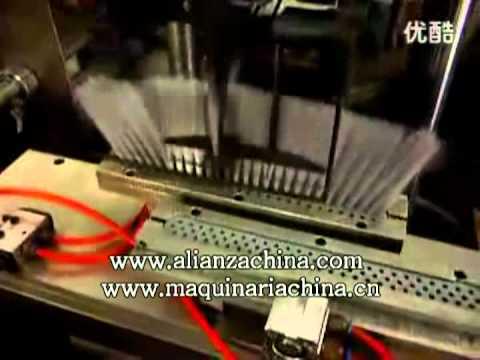 Insertadora de pelo para fabricar escoba