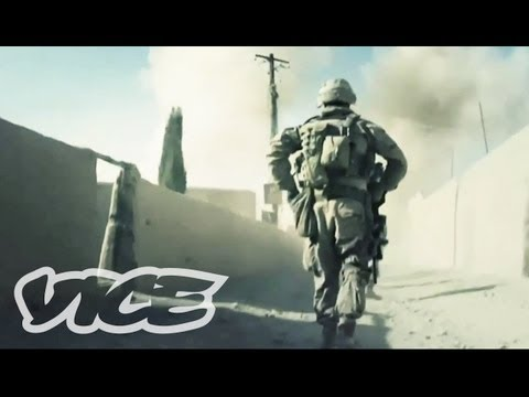 Footage From The War In Afghanistan & Interview With Journalist Ben Anderson