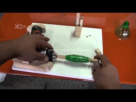 Reciclado de botellas pet - Máquina electrica