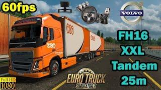 getlinkyoutube.com-ETS 2 - Volvo XXL Tandem 25m