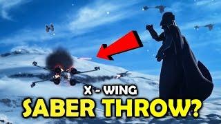 getlinkyoutube.com-Block Secondary Fire? - Testing Darth Vader Abilities + Tactics #5 - Star Wars Battlefront