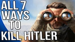 getlinkyoutube.com-Sniper Elite 3 - ALL Seven Ways to Kill Hitler - Hunt the Grey Wolf