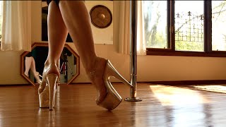 getlinkyoutube.com-Crazy In Love - Pole Dance Freestyle 50 Shades of Grey Soundtrack