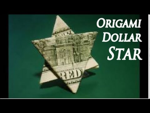 How to Make an Easy Origami DOLLAR STAR - Instructions