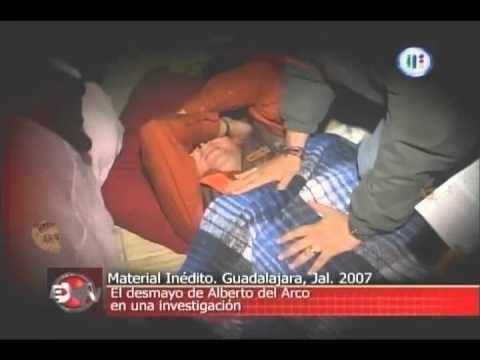 Extranormal Ataques a Alberto del Arco El desmayo de Beto deja el programa 5 sep 2010