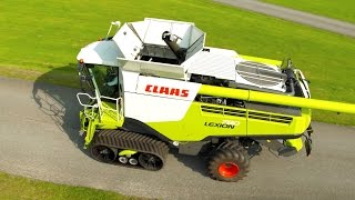 getlinkyoutube.com-CLAAS LEXION 780 - Follow Me To Agritechnica 2015 #fmtagt