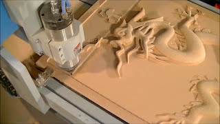 getlinkyoutube.com-21 6090  CNC Router and The BIG $$3D Dragon
