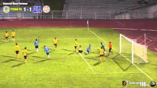getlinkyoutube.com-Perak FC 2-1 Felda United | Friendly | 21 Disember 2013