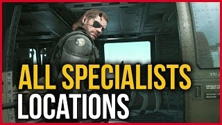 getlinkyoutube.com-Metal Gear Solid V The Phantom Pain - All Specialist Locations (How to get all the specialists)