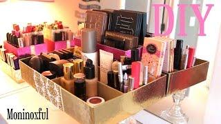 getlinkyoutube.com-DIY Organizador sencillo para Maquillaje - Reciclaje