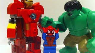 getlinkyoutube.com-Lego Hulk vs Hulkbuster