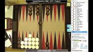 getlinkyoutube.com-Frank Simon (1,94) vs. Cemal Demiriz (9,38) 11p - HessenCup Jan 2015 - Ro32 - BG - XG-Feed - BMAB 12