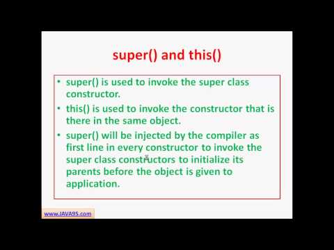 OCJP Tutorial| Java Constructors and classes| SCJP tutorial | Java9s