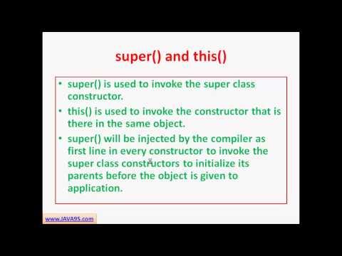 OCJP Tutorial| Java Constructors and classes| SCJP tutorial | Java9s