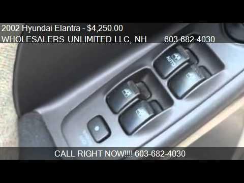 2002 Hyundai Elantra GLS Automatic - for sale in Auburn, NH