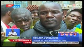 Mganga azua kioja kumshika mwizi wa pikipiki katika eneo la Nakuru
