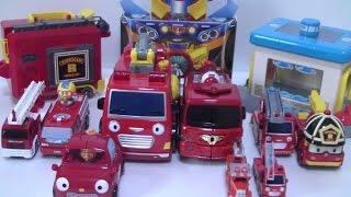 getlinkyoutube.com-로보카폴리 타요 뽀로로 또봇 소방차 장난감 Pororo Robocar Poli Tayo Bus Tobot Fire Cars Toys