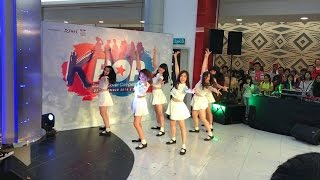 getlinkyoutube.com-Gfriend - Rough+Navirella Special Stage | Kickers Dance Cover | Gamuda Walk K-pop Competition 271116