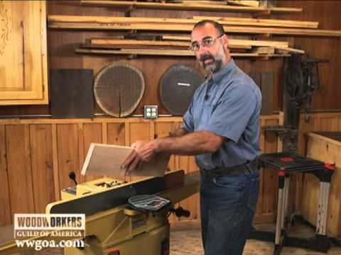 How to make rabbets on a jointer (using the Powermatic 54A) Youtube Thumbnail