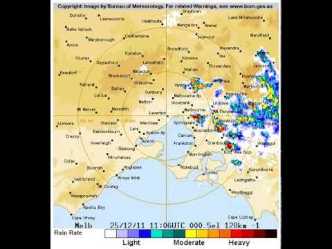 Melbourne Hail Storm, Christmas Day, 2011