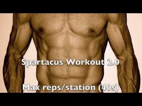 Spartacus Workout 2.0 Mens Health